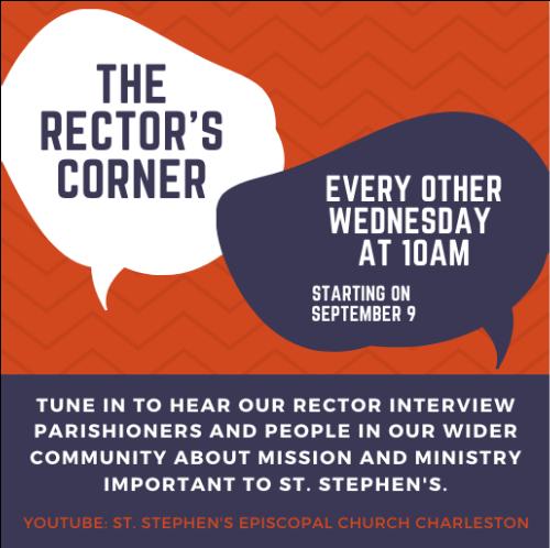 The Rector's Corner